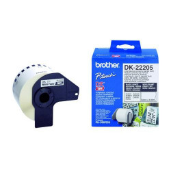 Brother Paper Tape White 62mm Reference: DK22205