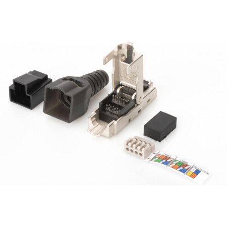 MicroConnect Tool-free RJ45 CAT6A connector Reference: KON524TL
