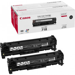 Canon Toner Black Twin Pack 718BK Reference: 2662B005