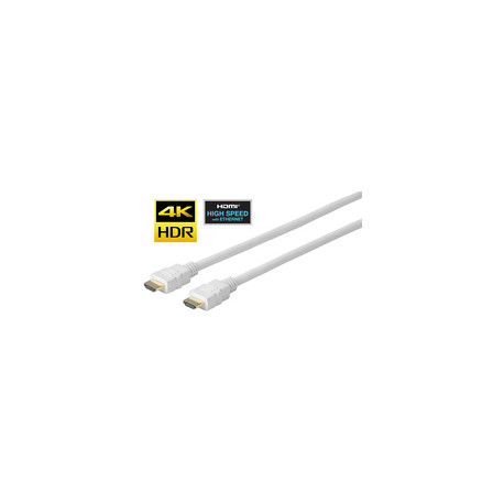 Vivolink PRO HDMI White cable 1.5m Reference: PROHDMIHD1.5W