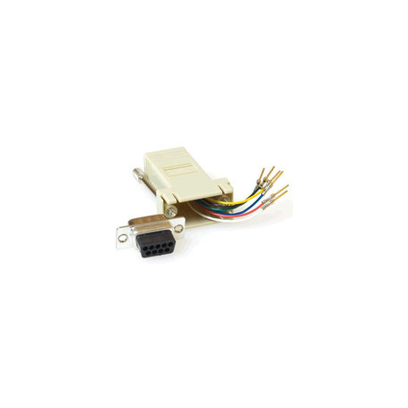 MicroConnect Serial Adapter RJ45-DB9 Female Reference: SAD008