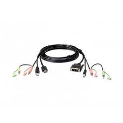 Aten 1.8m USB HDMI to Reference: 2L-7D02DH
