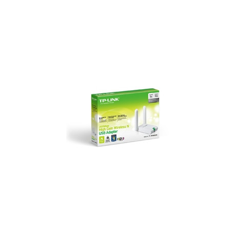 TP-Link 300M WLAN USB-HIGH-GAIN-Adapt. Reference: TL-WN822N