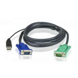 MicroConnect DVI-D 24+1-pin w. Ferrit, M-M Reference: MONCC2F